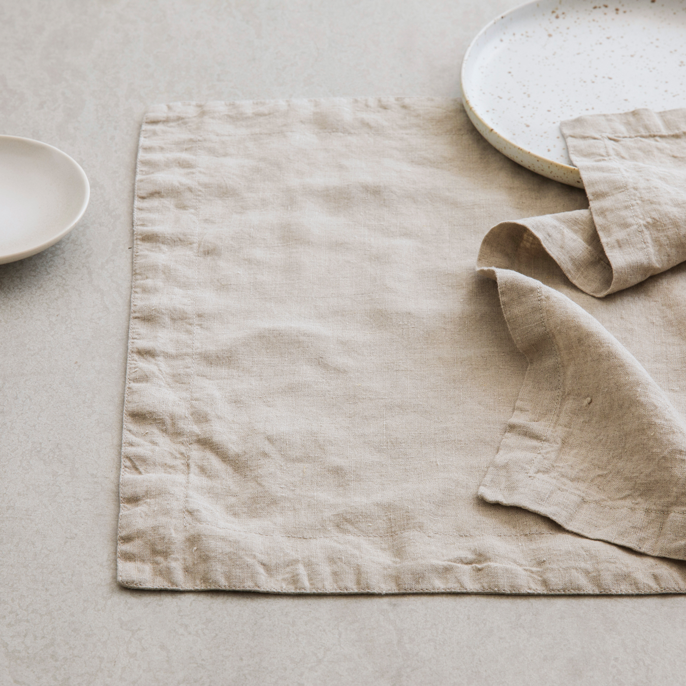 Linen Placements Set of Four - Natural