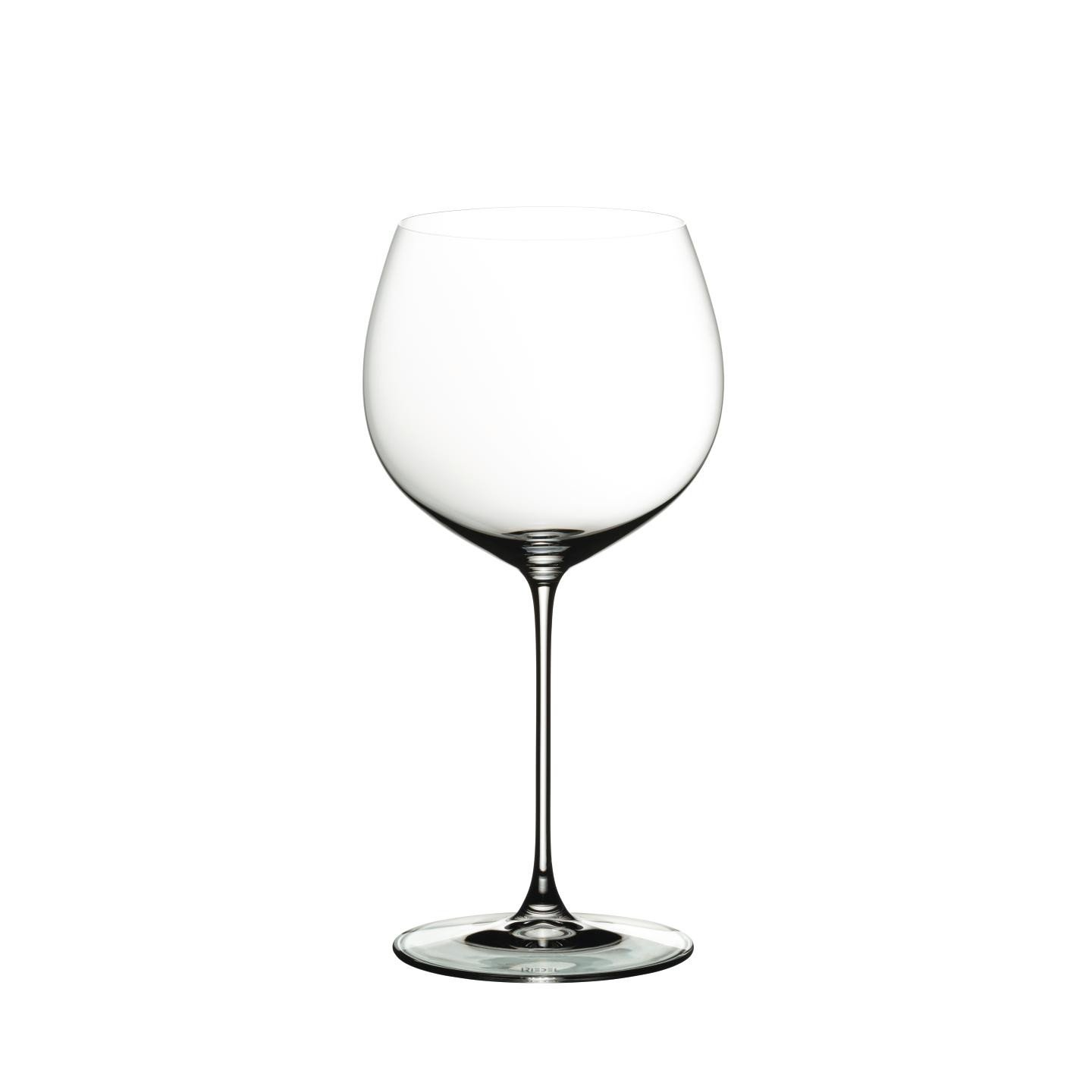 Veritas Oaked Chardonnay Set Of Two White Wine Glasses