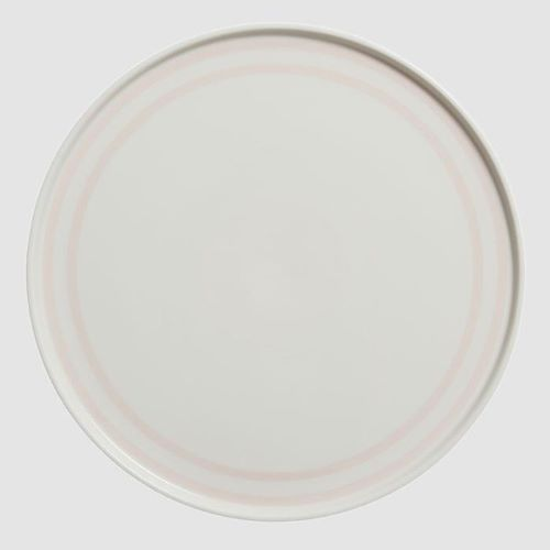The Wide Stripe Plate 25cm in Pink