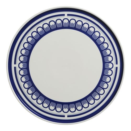 The Blue Scallop Plate 25cm