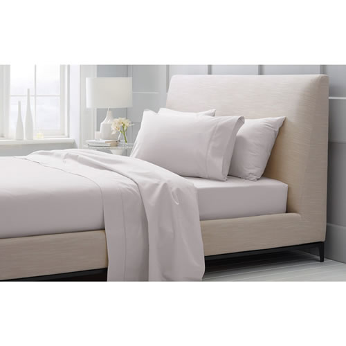 1000 TC Hotel Weight Luxury King Sheet Set 40cm in Dove