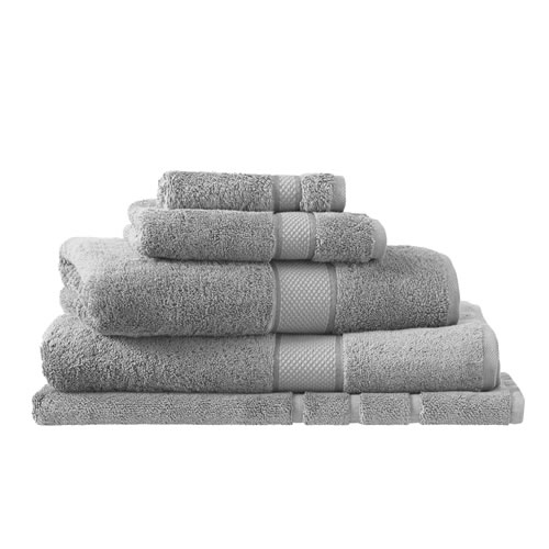 Egyptian Luxury Cotton Cloud Grey Bath Mat