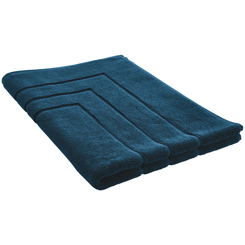 Luxury Egyptian Bath Mat in Kingfisher