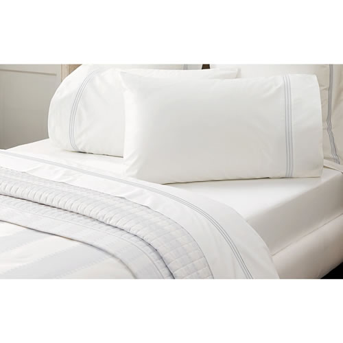 Palais Silver Standard Pillowcase Pair