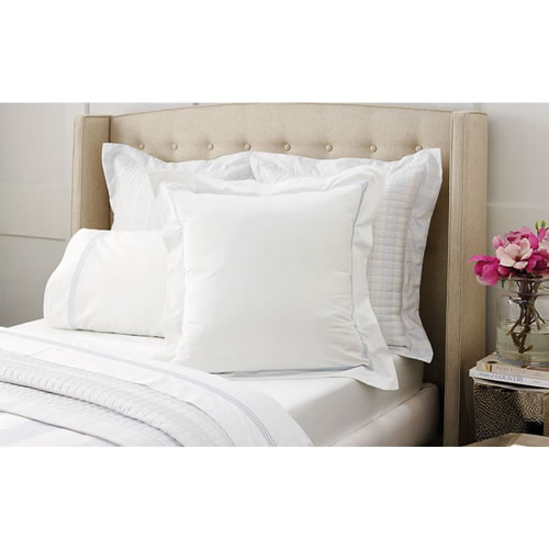 Palais Silver Tailored European Pillowcase Single