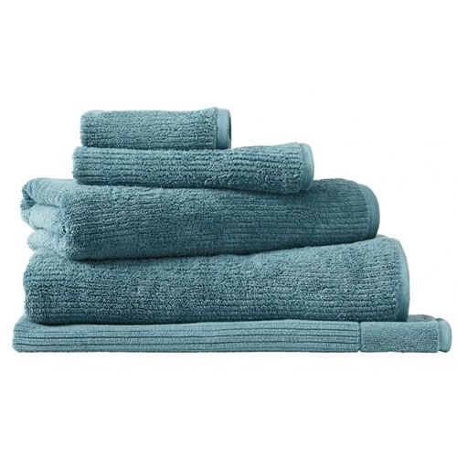 Living Textures Teal Hand Towel
