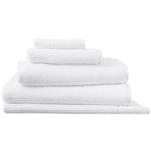 Living Textures White Queen Towel