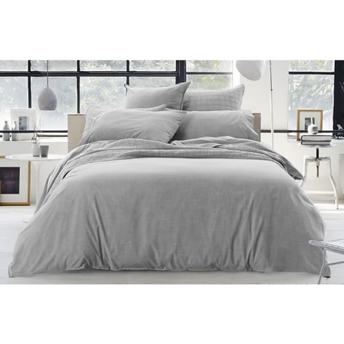 Reilly Fog King Standard Quilt Cover Set