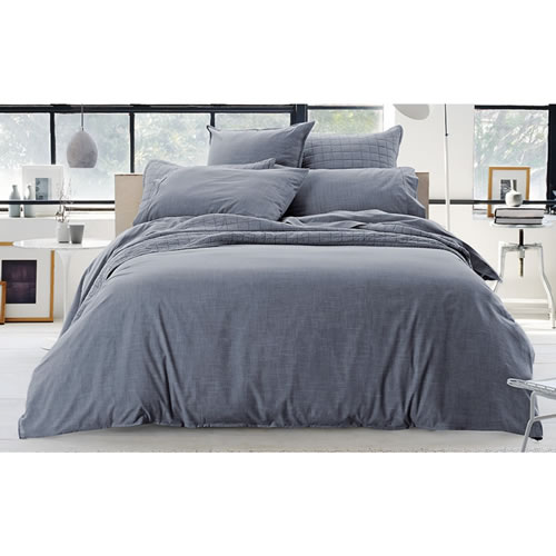 Reilly Atlantic King Standard Quilt Cover Set
