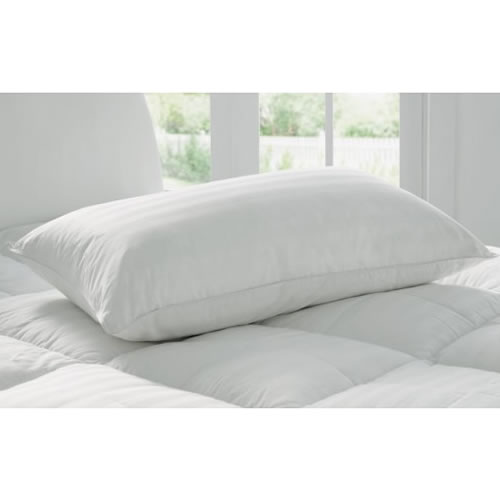 Deluxe Feather & Down Standard Pillow in  Medium 48cm x 73cm