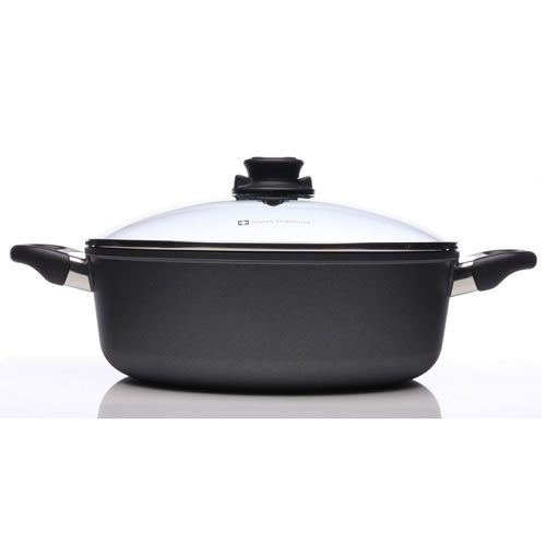 Swiss Diamond Braiser with Lid 28 x 10cm 5L