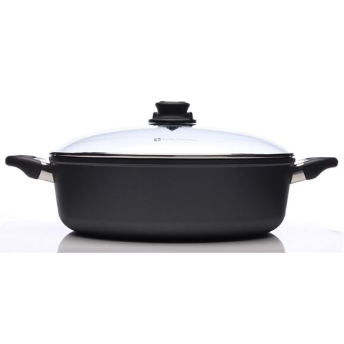 Swiss Diamond Braiser with Lid 32 x 10cm 6.8L
