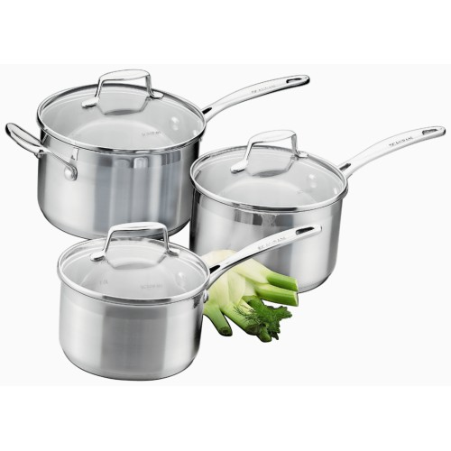 IMPACT Three Piece Saucepan Set