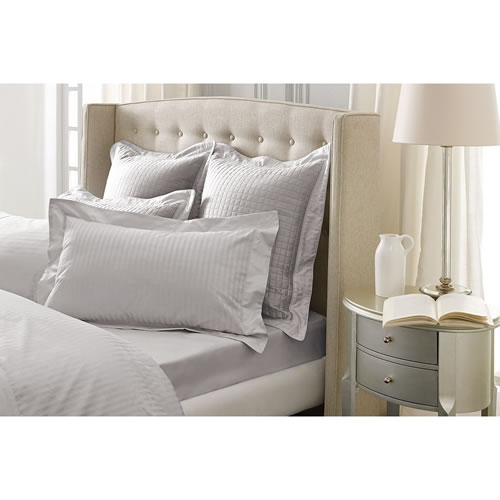 Millennia Silver Tailored Pillowcase Single