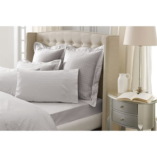 Millennia Silver  Standard Pillowcase Pair