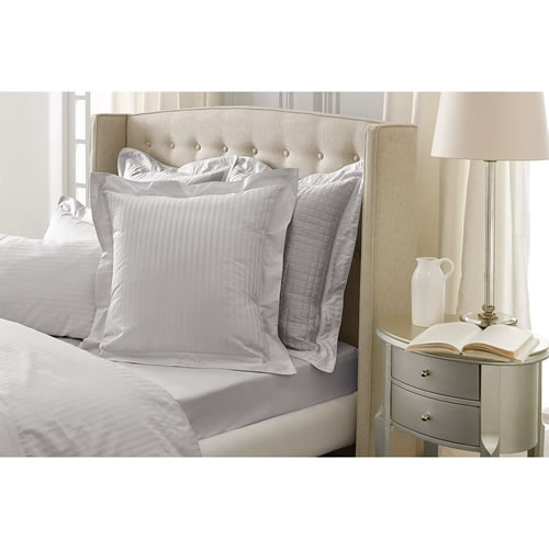 Millennia Silver  Tailored European Pillowcase Single