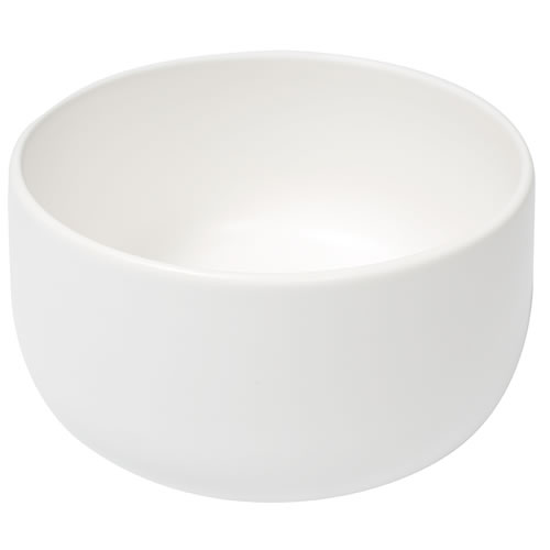Ceilia Salad Bowl White Matte