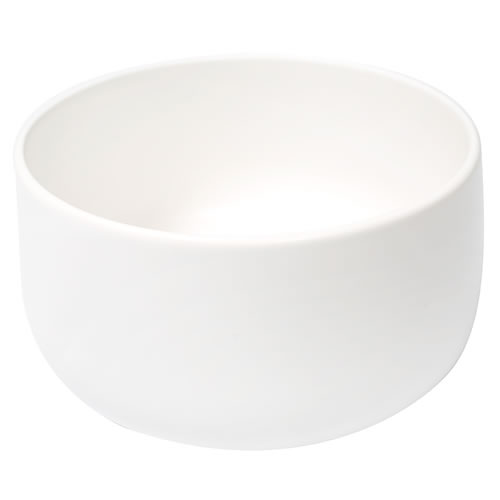 Ceilia Small Salad Bowl White Matte
