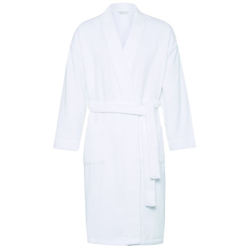 White Quick Dry Luxury White Towelling Robe Lrg XLrg