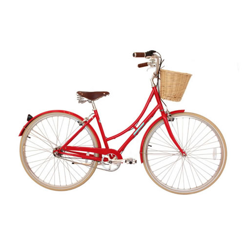 Sommer Womens Bicycle in Boston Red