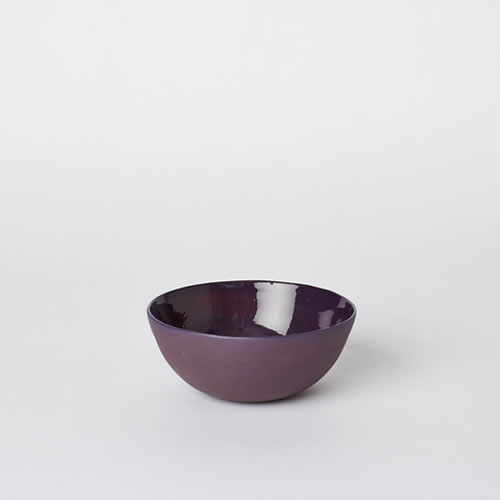 Soup Bowl in Plum