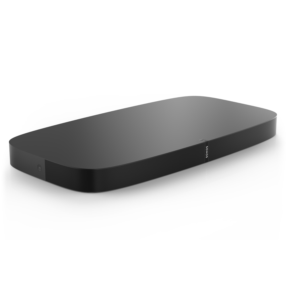 Sonos - PLAYBASE Wireless Soundbase - Black
