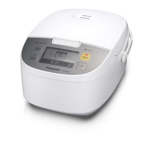 Panasonic 5 Cup Rice Cooker in White