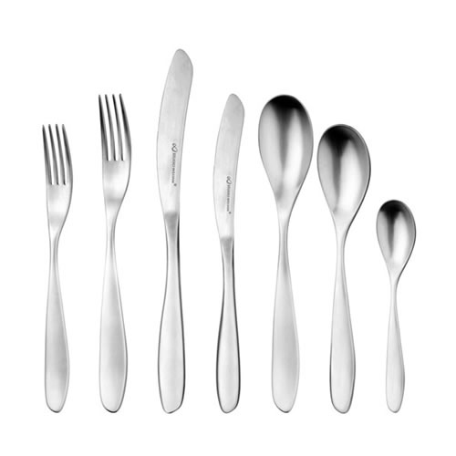 Bodhi 56 Piece Cutlery Set Satin Finish