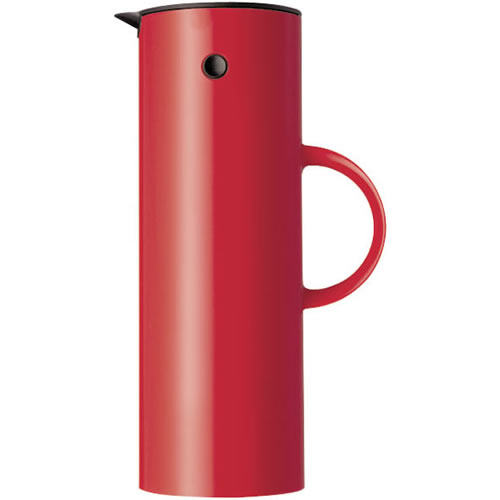 Vacuum jug 1 Litre in Red