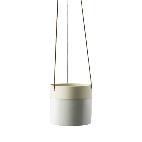 Summit Hanging Pot Small Cloud Grey