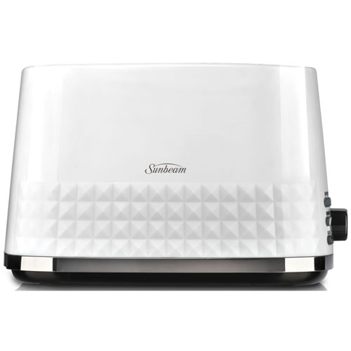 Sunbeam Diamond Collection 2 Slice Toaster White