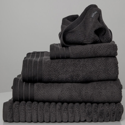 Charcoal Jacquard Bath Sheet