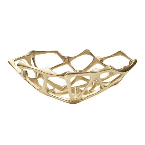 Bone Bowl Brass Small