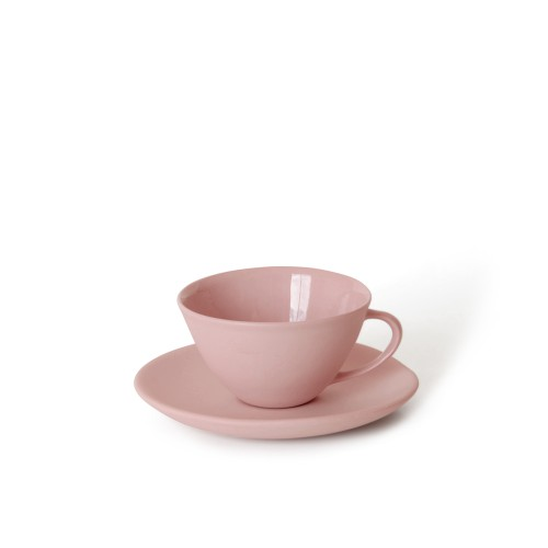 Tea Cup and Saucer in Blossom