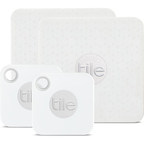Tile URB Mate+Slim Bluetooth Tracker Combo White