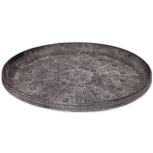 Yasmin Round Tray in Small