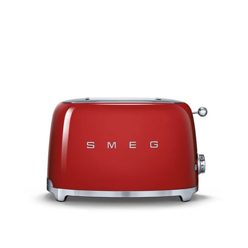 Smeg 50's Style 2 Slice Toaster Red