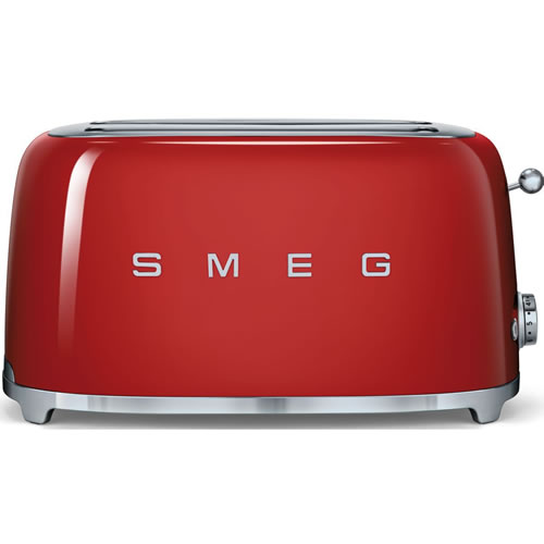 Smeg 50's Style 4 Slice Toaster Red