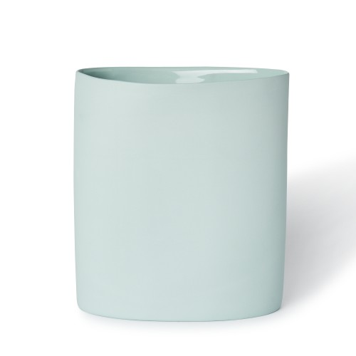 Vase Oval Large in Blue