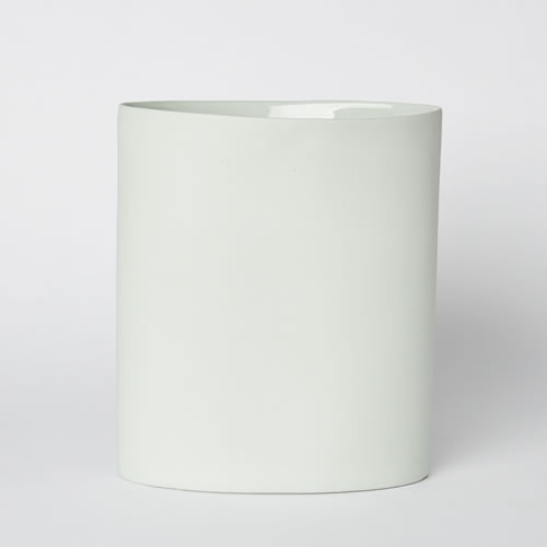 Vase Oval Large in Mist