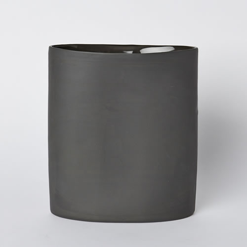Vase Oval Large in Slate