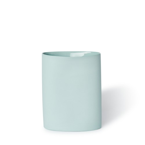 Vase Oval Medium in Blue