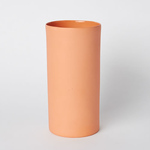 Large Vase in Orange