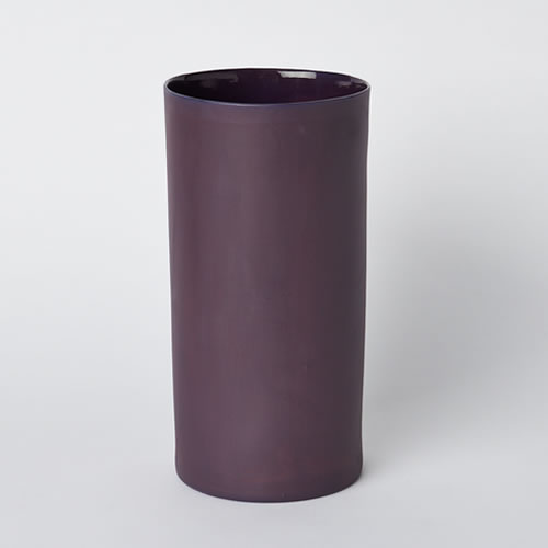 Large Vase in Plum