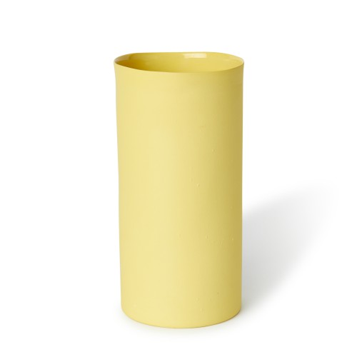 Large Vase in Yellow