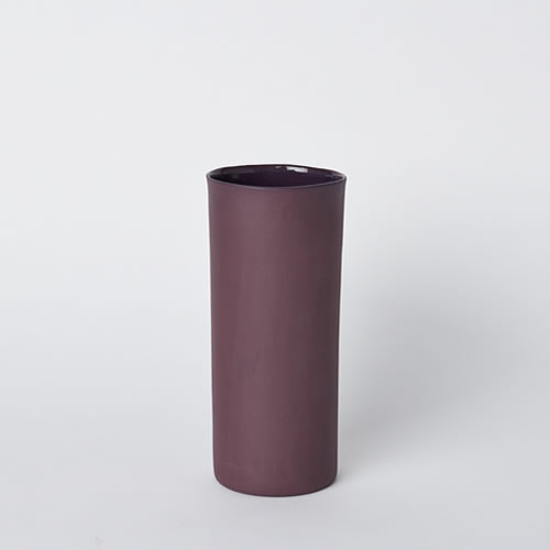 Medium Vase in Plum