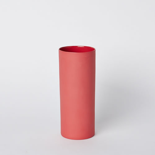 Medium Vase in Red