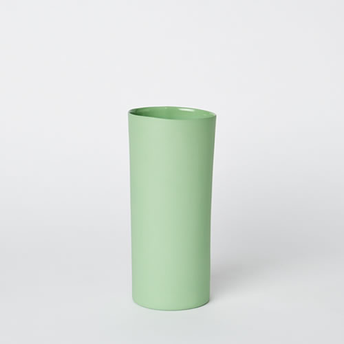 Medium Vase in Wasabi