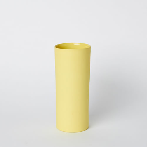 Medium Vase in Yellow