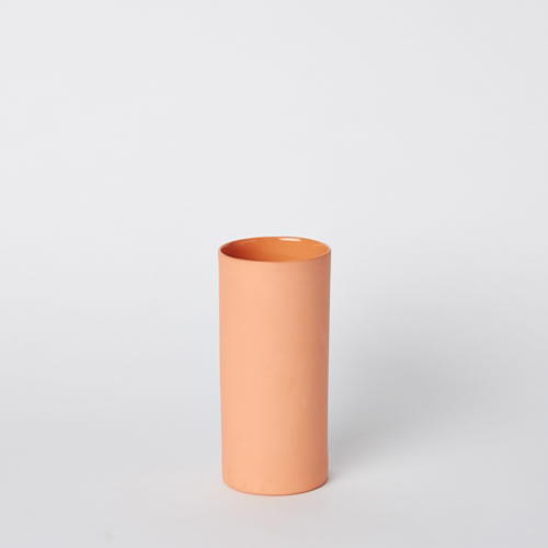 Small Vase in Orange